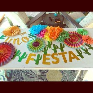 Other - Fiesta first birthday decor